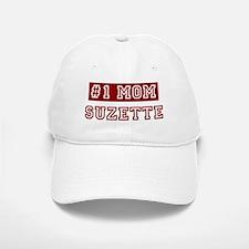 Suzette #1 Mom Baseball Baseball Cap