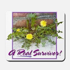"""Real Survivor"" Mousepad"