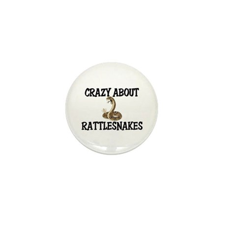 Crazy About Rattlesnakes Mini Button (10 pack)