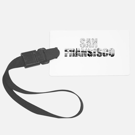 SanFrancisco Luggage Tag