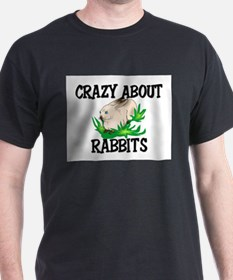 Crazy About Rabbits T-Shirt