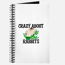 Crazy About Rabbits Journal