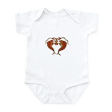 Cute Fish logo Infant Bodysuit