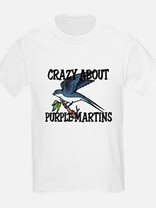 Crazy About Purple Martins T-Shirt