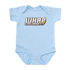 wkrp in cincinnati Infant Bodysuit