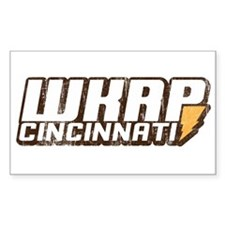 wkrp in cincinnati Rectangle Decal