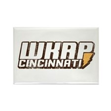 wkrp in cincinnati Rectangle Magnet