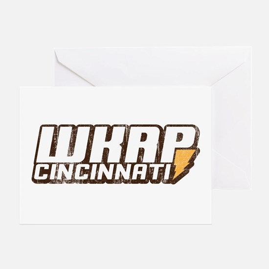 wkrp in cincinnati Greeting Card