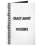 Crazy About Possums Journal