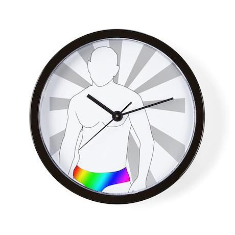 Dance Pride Wall Clock