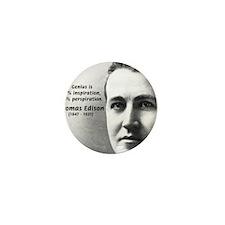 Thomas Edison: Genius Mini Button (10 pack)