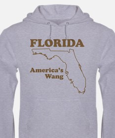 florida americas wang funny state Hoodie