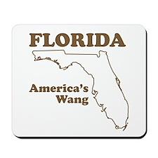 florida americas wang funny state Mousepad