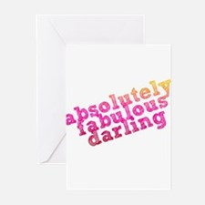 Absolutely Fabulous Darling Greeting Cards (Pk of