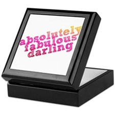 Absolutely Fabulous Darling Keepsake Box