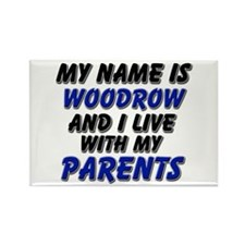 my name is woodrow and I live with my parents Rect