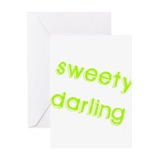 Sweety Darling Greeting Card
