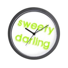 Sweety Darling Wall Clock