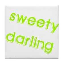 Sweety Darling Tile Coaster