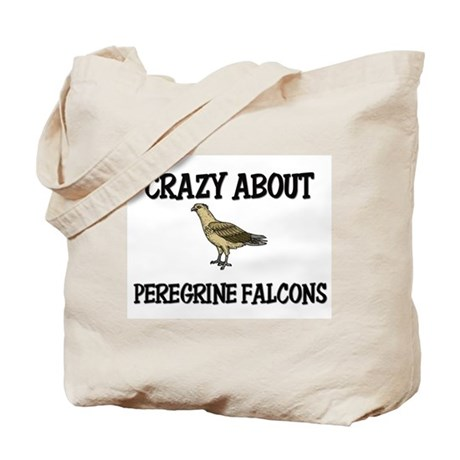 Crazy About Peregrine Falcons Tote Bag