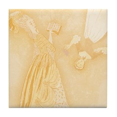 Maid and Lady Tile Drink Coaster