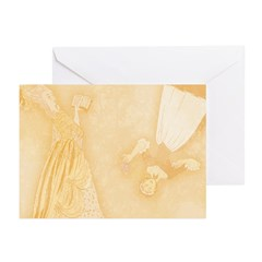 Maid and Lady Greeting Cards (Pk of 20)