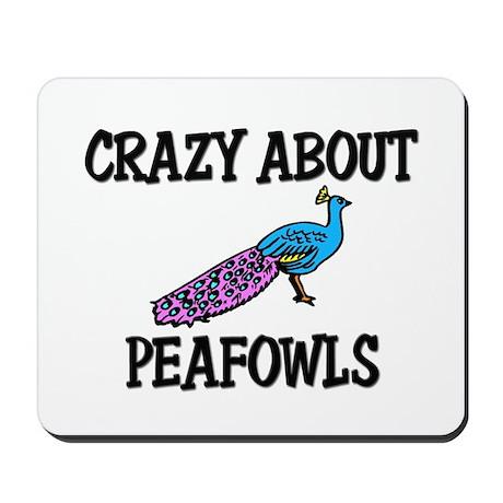 Crazy About Peafowls Mousepad