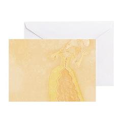 Lady at Masquerade Greeting Cards (Pk of 20)