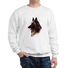 Belgian terv portrait Sweatshirt