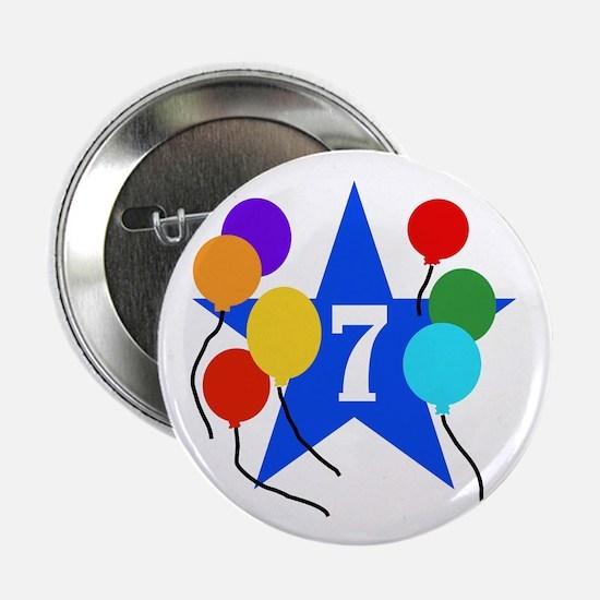 7th Birthday Button
