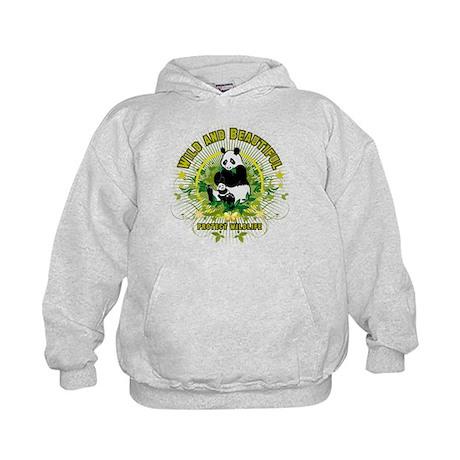 Wild Panda Kids Hoodie