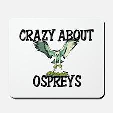 Crazy About Ospreys Mousepad
