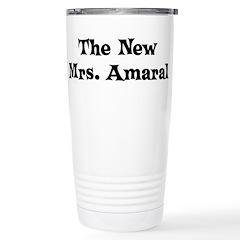 The New Mrs. Amaral Travel Mug