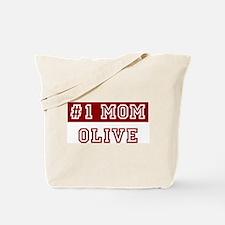 Olive #1 Mom Tote Bag