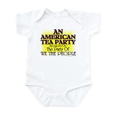 American Tea Party Infant Bodysuit
