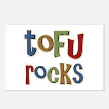 Tofu Rocks Postcards (Package of 8)