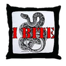 RATTLESNAKE Throw Pillow