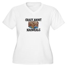 Crazy About Narwhals T-Shirt