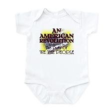 An American Revolution Infant Bodysuit