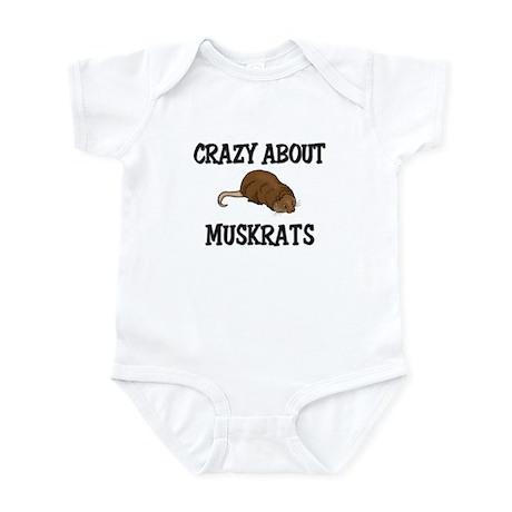 Crazy About Muskrats Infant Bodysuit