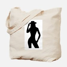 Nude Silhouette w/Hat Tote Bag