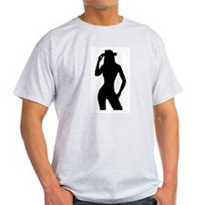 Nude Silhouette w/Hat T-Shirt