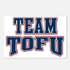 Team Tofu Postcards (Package of 8)