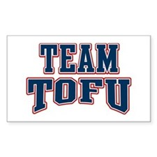 Team Tofu Rectangle Decal