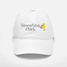 Geocaching Chick Baseball Baseball Cap