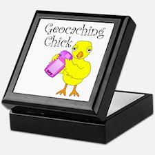 Geocaching Chick Keepsake Box