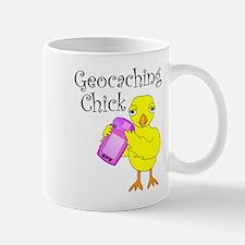 Geocaching Chick Mug