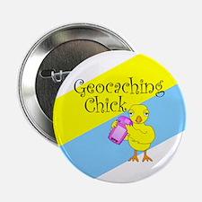 "Geocaching Chick 2.25"" Button"