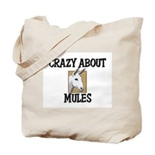 Crazy About Mules Tote Bag