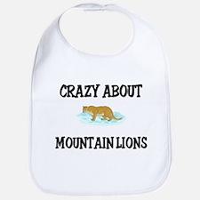 Crazy About Mountain Lions Bib